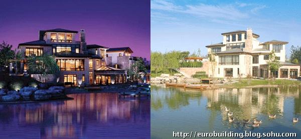 一幢幢尖顶粉墙的欧式小别墅又重新矗立在白鹿河边