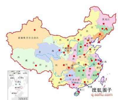 中国地�_全球网友如火如荼地捍卫海外中国地图上的领土完成!(图集)