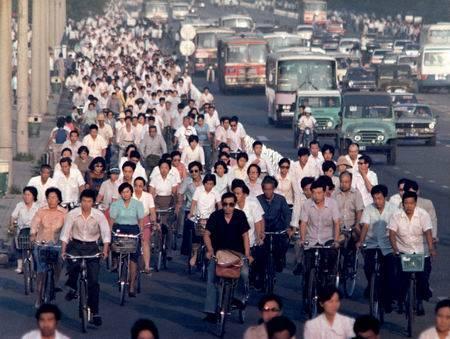 从衣食住行看改革开放30年的新变化 图片