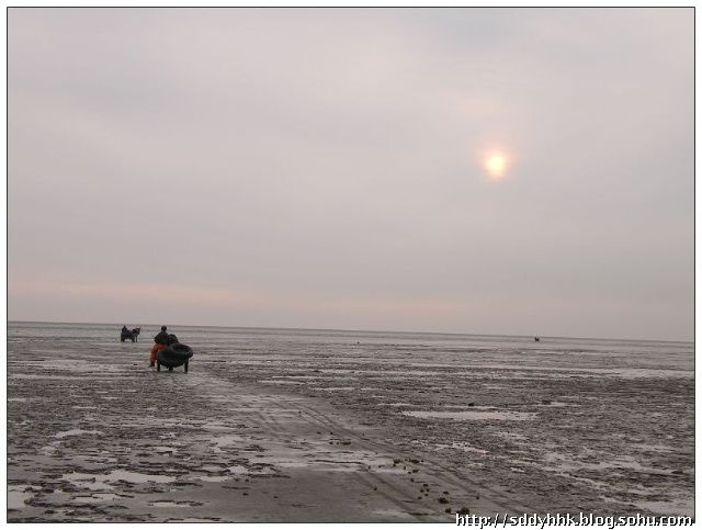 """垦利县红光渔港,近百条渔船上到处是一片繁忙景象,渔民们忙着给轮机加油、整理渔网、对渔船做最后的安全检查。上午12:00,近百余艘渔船纷纷驶向大海开展捕捞作业。  黄河三角洲有了高标准渔港;拥有一处高标准、综合性的渔港是黄河三角洲渔民的梦想。如今,这一梦想已经变成了现实。 近日,总投资近5000万元的广利、红光、刁口、支脉河四处渔港码头在山东省东营市全部建成并通航。这标志着一向被人们称为""""善淤、善徙、不宜建海港""""的黄河三角洲上终于有了高标准、综合性的渔港。 据了解,刚刚建成的这四大渔"""