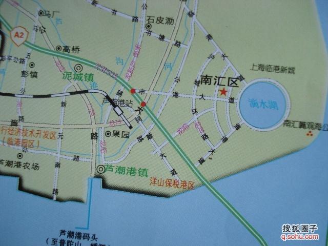 上海临港新城地图上海临港新城规划图 上海新景观高清图片