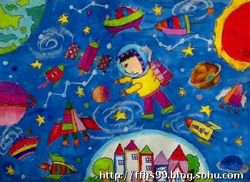 陈萌婷 8岁《遨游太空》