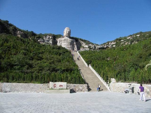 蒙山风景区的寺庙