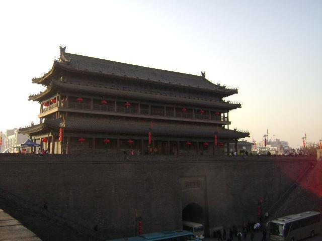了,这是城墙的镇楼、角楼和闸楼.)-浮光掠影记西安图片
