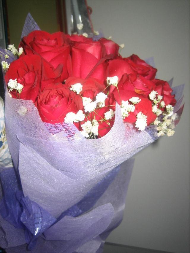 表演才适合你 我也吐吐舌头,说,真可惜 谢谢小马的一束鲜红玫瑰花 让