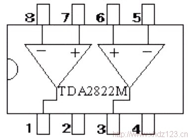 tda2822m集成功率放大器