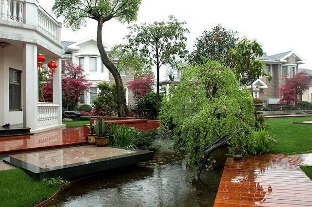 别墅庭院空间设计-庭院景观设计营造-搜狐博客