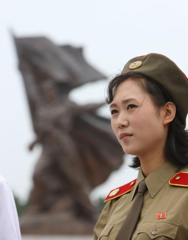 朝鲜罕见百姓生活照(组图)