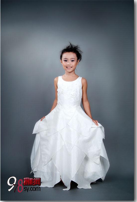 兒童室內婚紗時尚藝術