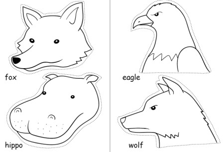 黑白动物剪纸图片_第2页_乐乐简笔画