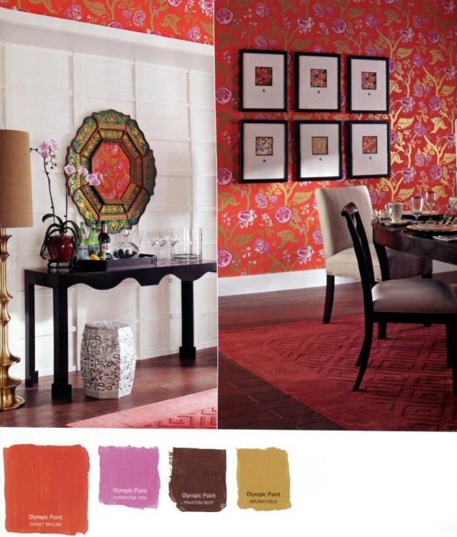 欧式客厅窗帘 枣红色