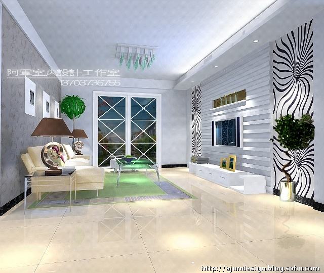 现代极简风格-阿军室内设计工作室-搜狐博客