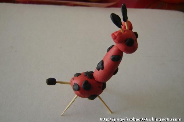 用橡皮泥捏小动物-花开的声音-搜狐博客