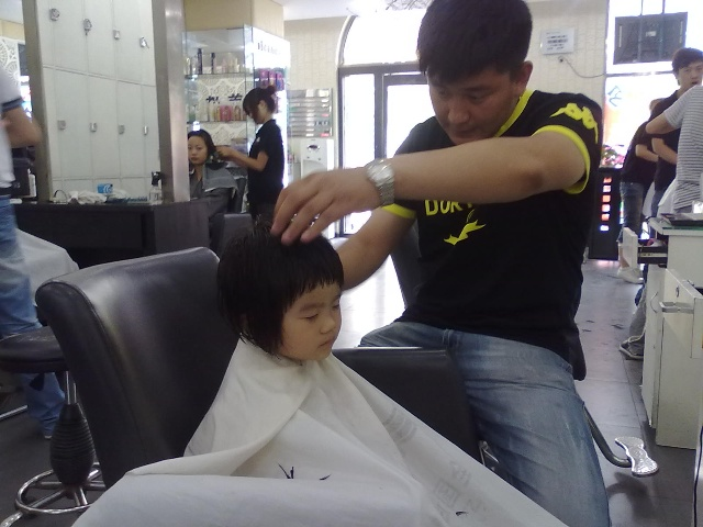 2周岁女宝宝发型
