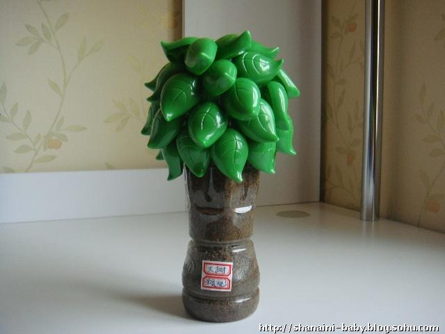 塑料瓶子做的花灯,精致! _手工小制作