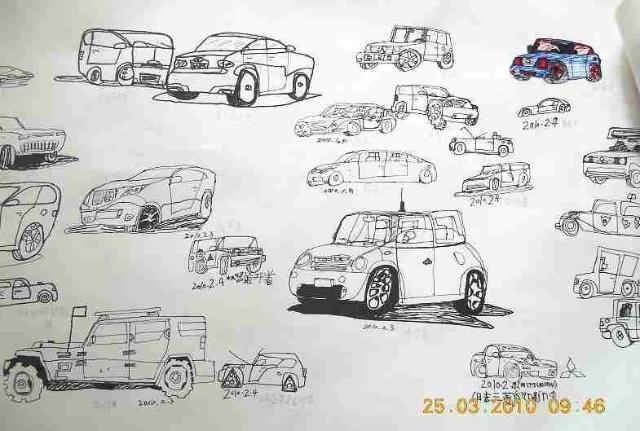 一年级美术教案画汽车分享展示