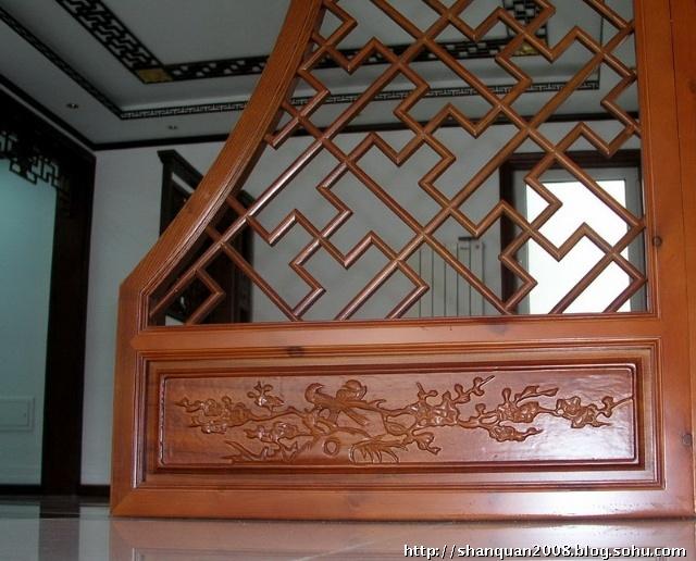 中式字画花格边框