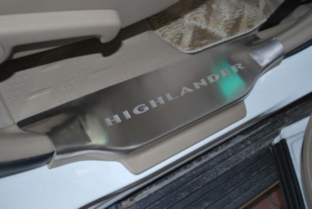 汉兰达改装 行李架脚踏板前后保险杠疝气灯13424092000