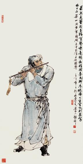 燕青人物简笔画